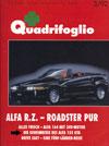 Quadrifoglio März 1992 - Alfa Rome 155 GTA