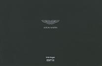Aston Martin Vantage SP10 Broschuere