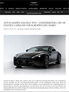 Aston Martin Vantage SP10 – Sondermodell des V8 Vantage S exklusiv für europäischen Markt
