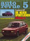 Autorevue Mai 1974 LANCIA Fulvia 1300