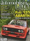 automonilismo d'epoca 2015 Fiat 131 Abarth