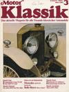 Fiat Dino Motos Klassik März 1985
