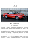 Fiat Dino radicalmag Maerz 2017