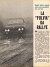 La Fulvia Da Rallye LANCIA Fulvia 1300