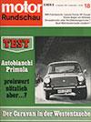 Lancia Fulvia Motor Rundschau 1968
