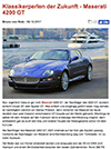 Maserati GranSport Zwischengas Dez 2017