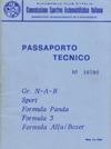 Passaporto Tecnico Alfa Romeo 155 GTA