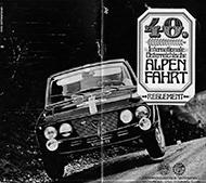 40. Internationale österreichische Alpenfahrt 1969