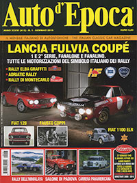 Lancia Fulvia – Auto d'Epoca Jan 2019