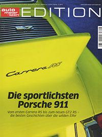 auto motor sport edition Porsche 911 RSR
