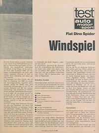 Fiat Dino – 1968